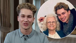 AJ Pritchard opened up about his nan dying