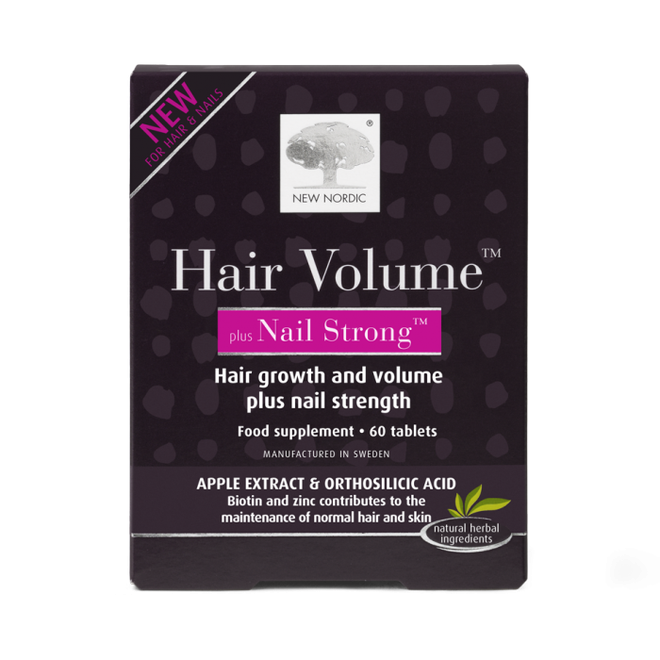 Hair Volume with apple