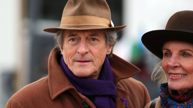 Nigel Havers plays Roger in Finding Alice