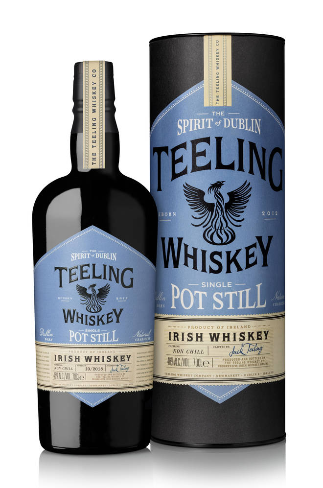 Enjoy Irish Whiskey at its finest with this aromatic serve