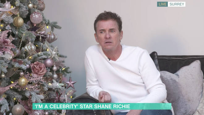 Shane Richie assured fans he and AJ are friends