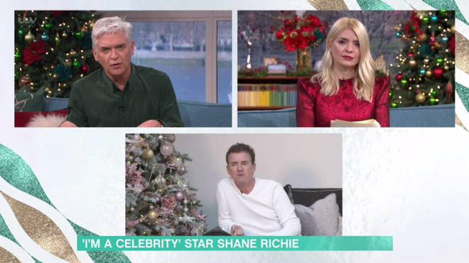 Shane Richie told Holly and Phil that there was 'no conflict at all'