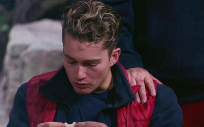 AJ Pritchard and Shane Richie appeared to have some tension between them in the camp