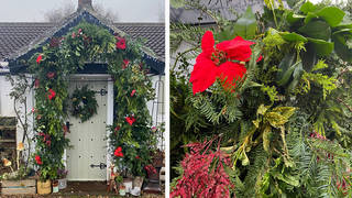 The mum-of-two's DIY project looks incredible, and it only took her a day