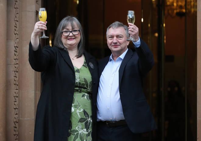 Frances and Patrick won £115million