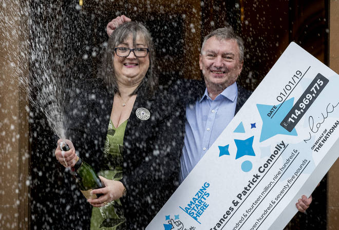 They have given away £60million to help other families