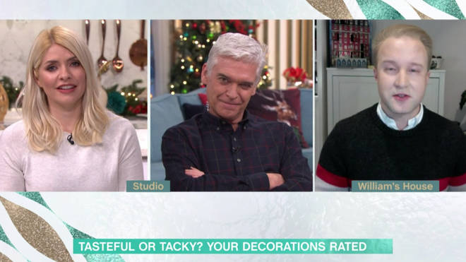 The etiquette expert was not keen on fake Christmas trees either