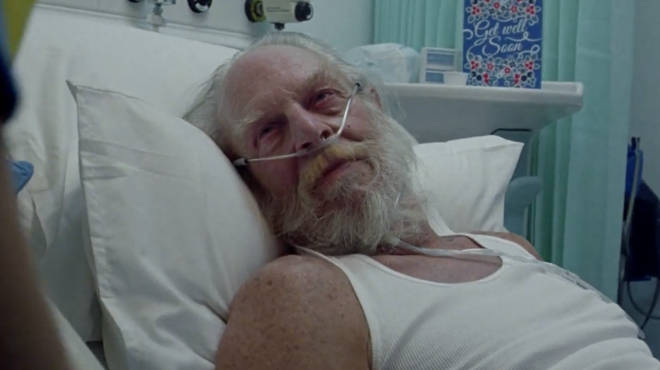 The NHS advert sees Santa rushed to hospital days before Christmas