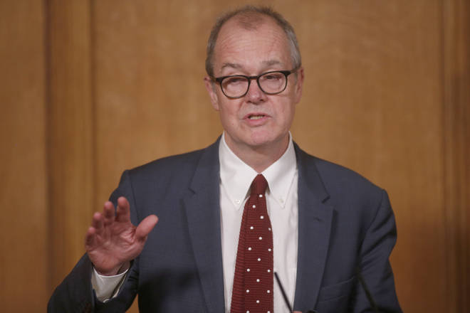 Sir Patrick Vallance spoke out yesterday