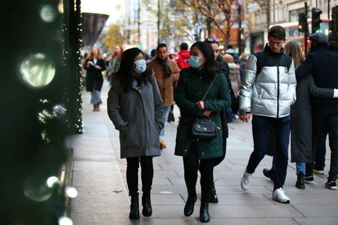 Face masks are currently mandatory in places like shops and public transport
