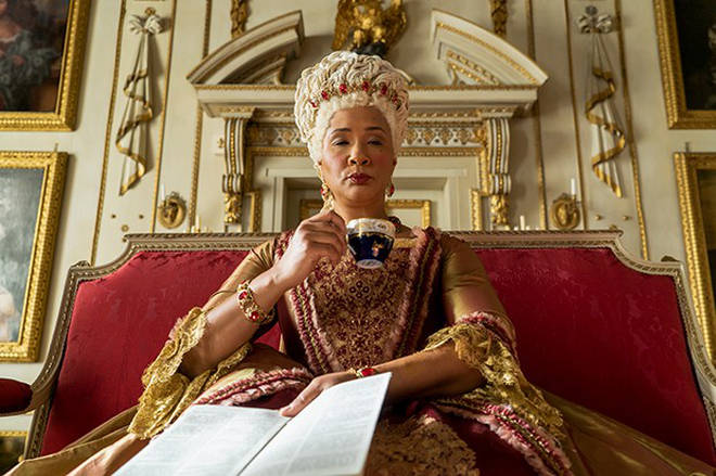 Queen Charlotte is played by Golda Rosheuvel