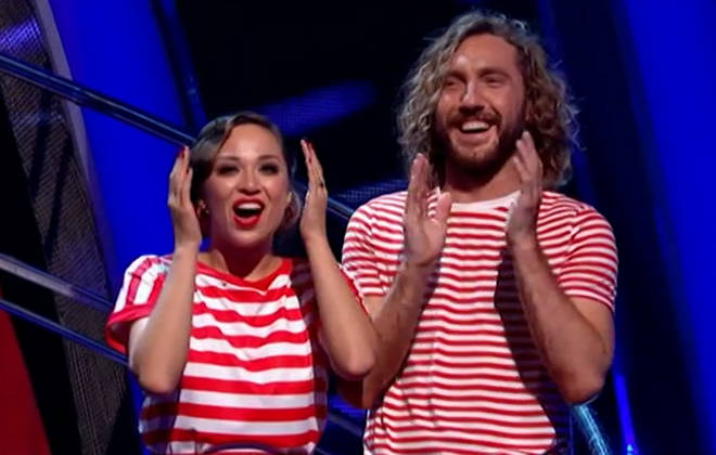 Seann Walsh and Katya's shock at surviving Strictly elimination