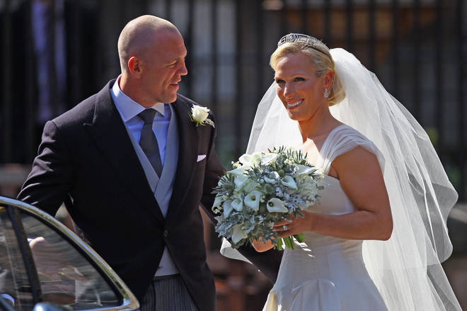 Mike and Zara Tindall married in 2011