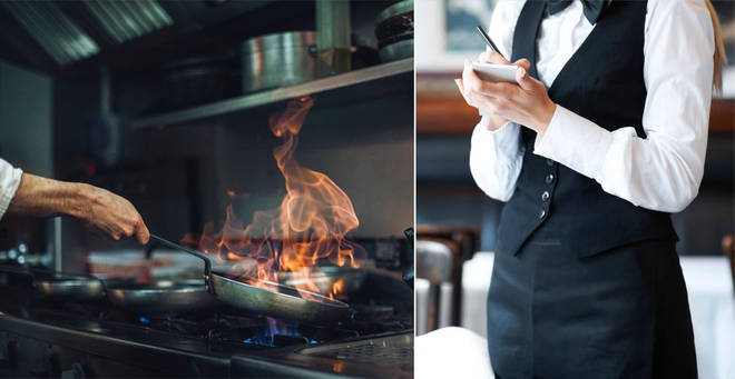 The restaurant has pleaded with customers to call ahead if they need to cancel a booking (stock images)