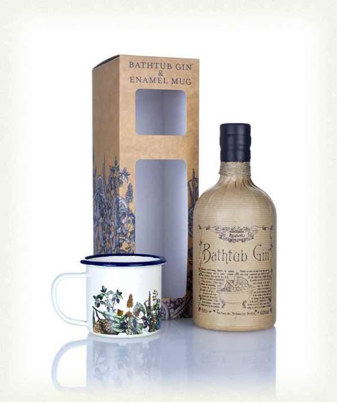Bathtub Gin & Enamel Mug Gift Pack