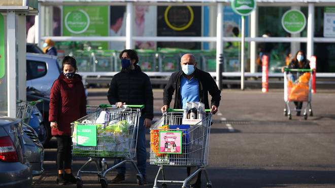 Asda has remained open throughout the pandemic