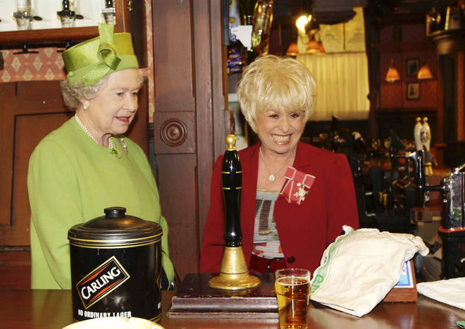 Barbara Windsor took the role of Peggy Mitchell in EastEnders in 1994