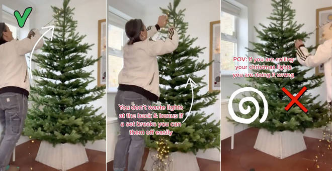 Have you been hanging up your Christmas tree lights wrong?
