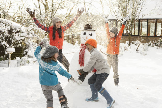 Met Office experts say it is too soon to be sure of a white Christmas