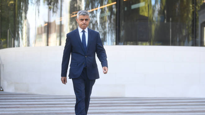 Sadiq Khan has urged schools to be closed in London