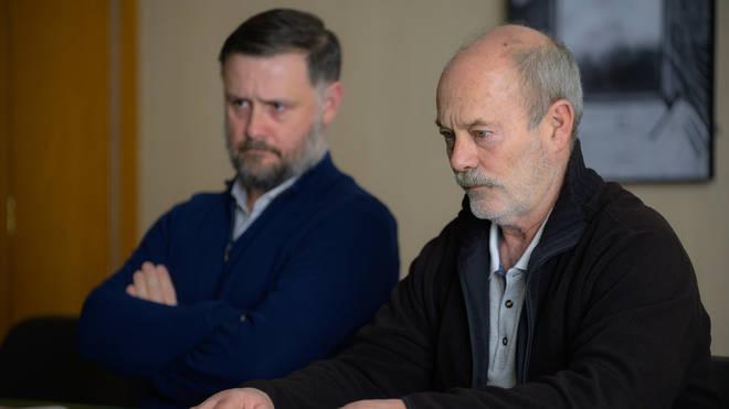 Keith Allen as John Cooper in The Pembrokeshire Murders
