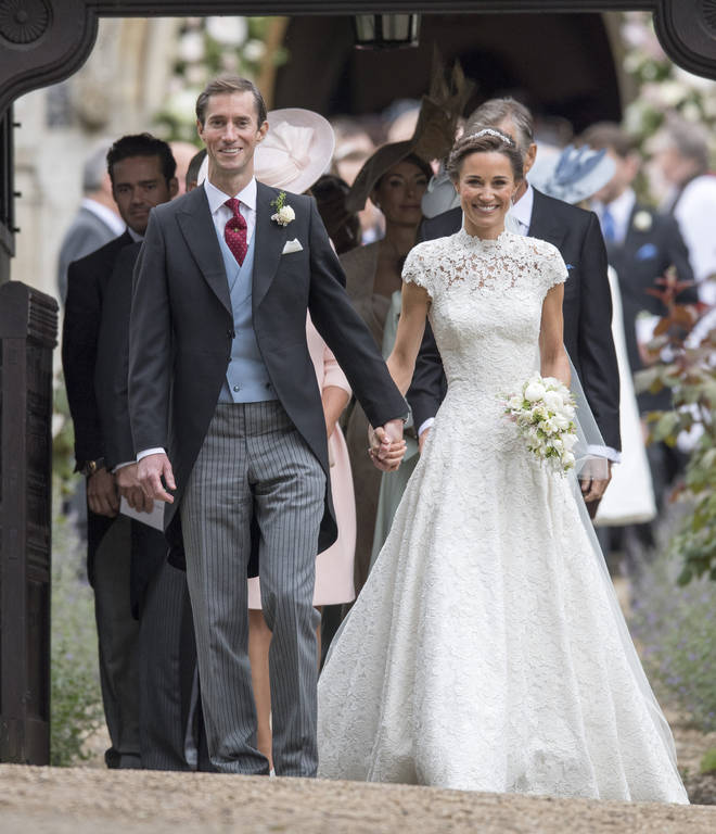 Pippa and James married in 2017