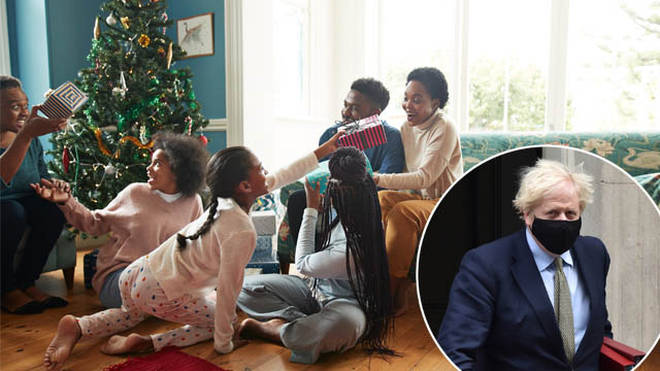 The government has warned families to meet as little as possible over Christmas