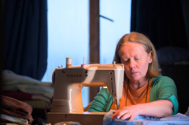 Caroline Berry as Pat Cooper in The Pembrokeshire Murders