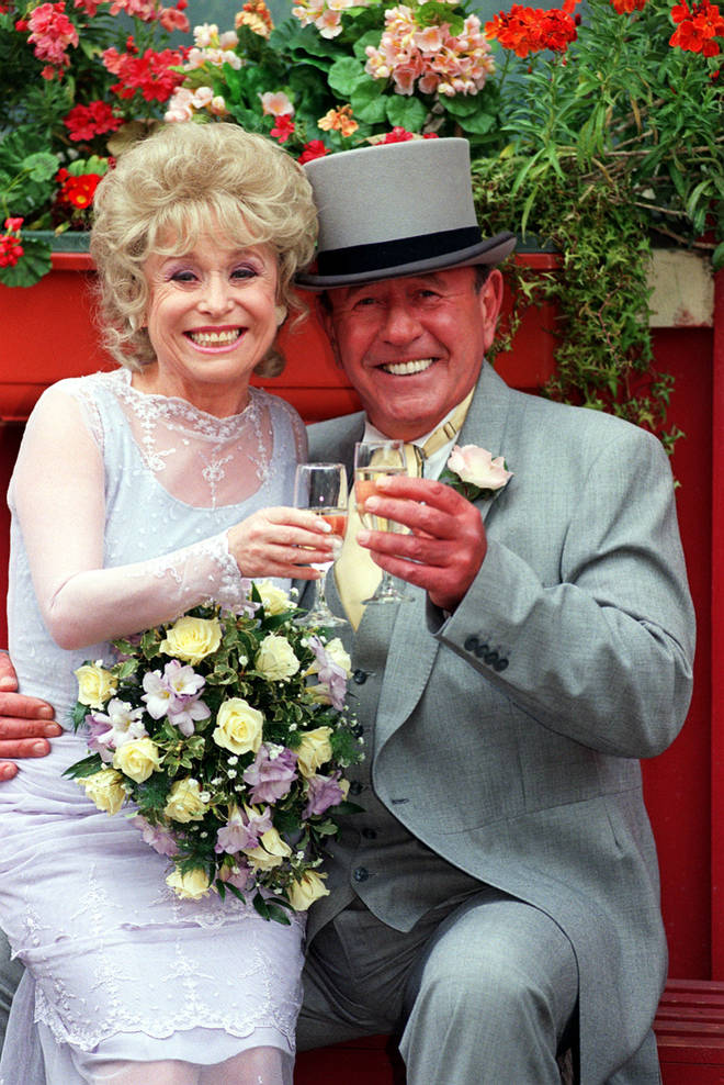 Barbara Windsor appeared on EastEnders for over 20 years