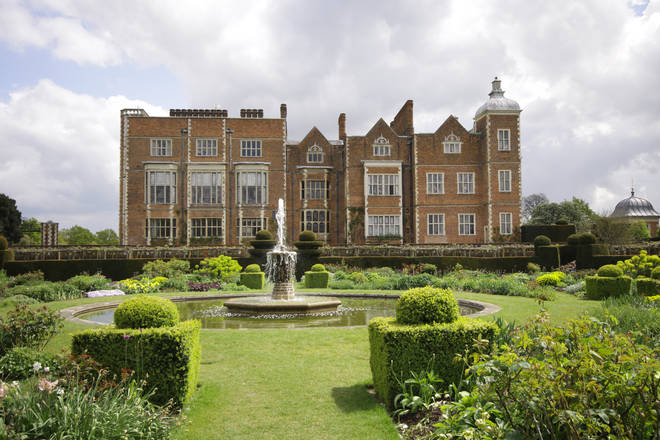 Hatfield House is one of the locations used in the show
