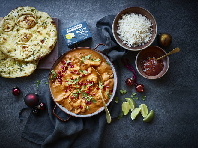 Enjoy a luxurious turkey curry on Boxing Day