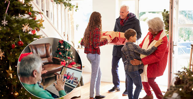 Families will be allowed to meet between 23 and 27 December (stock image)