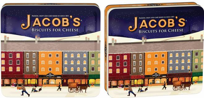 Jacob's Crackers Heritage Tin