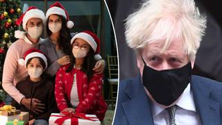 Boris Johnson says people need to exercise caution