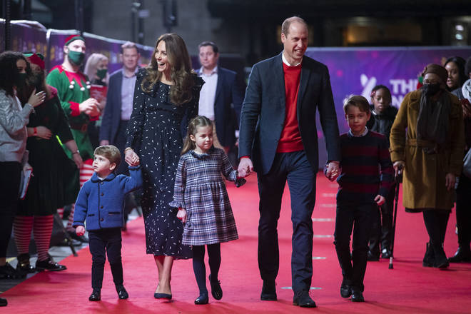 The Cambridges recently attended a pantomime in London