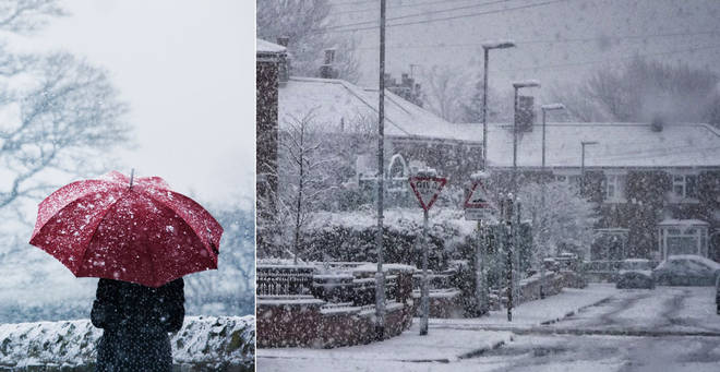 Will we see a white Christmas? (stock images)