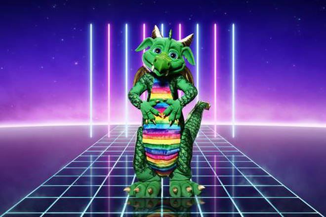 Dragon is one of the contestants on The Masked Singer UK