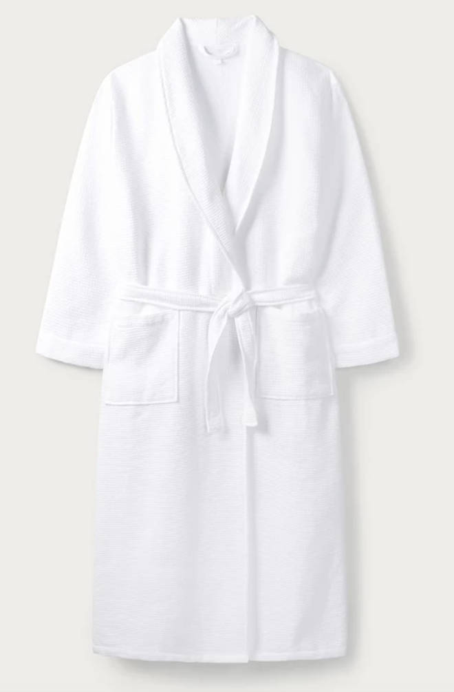 This White Company dressing gown is perfect for keeping cosy in the winter