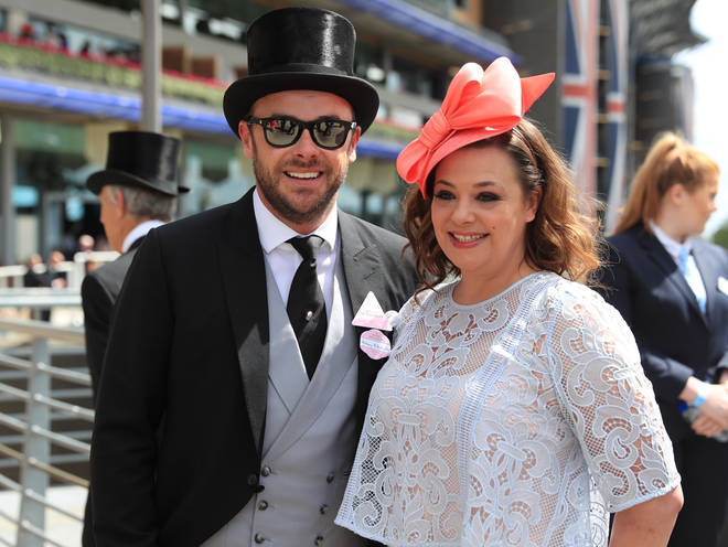 Ant McPartlin and Lisa Armstrong pictured before their separation