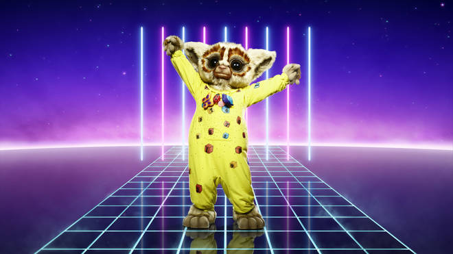 Bush Baby is competing on The Masked Singer UK