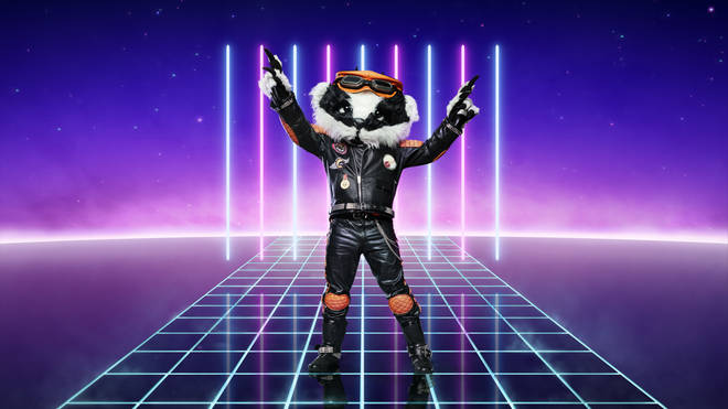 Badger is competing on The Masked Singer