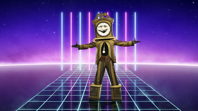 Grandfather Clock is competing on The Masked Singer UK