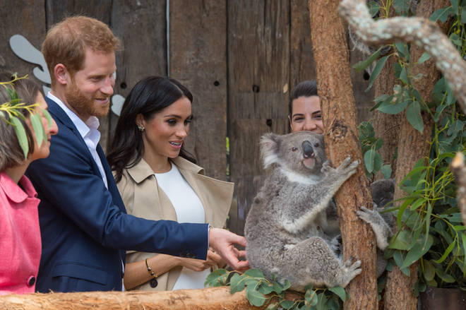 Meghan Markle and Prince Harry are currently in Australia
