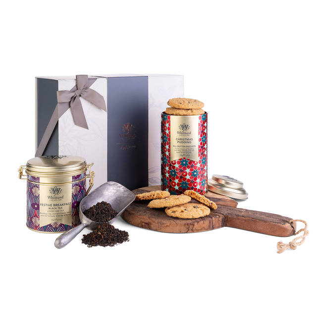 Send a very British present of lovely tea and biscuits