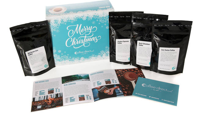 Celebrate with the 12 Days of Coffee gift