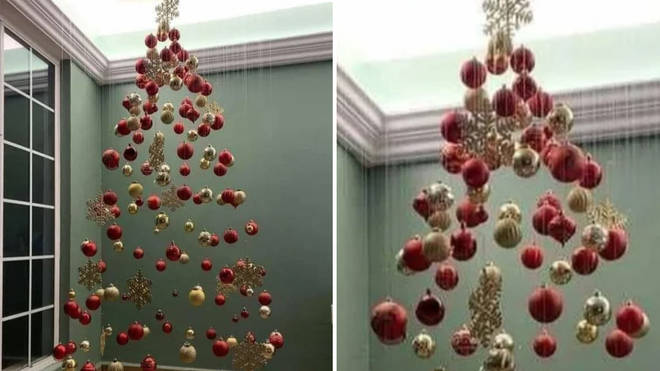 People can't make their minds up on this unusual Christmas tree trend