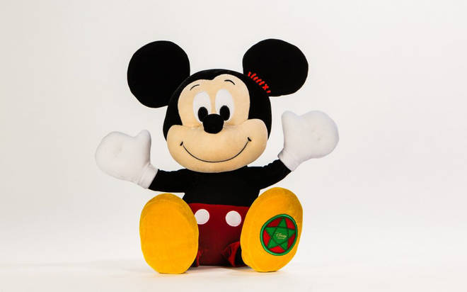 The cute Mickey from the Disney ad could be yours