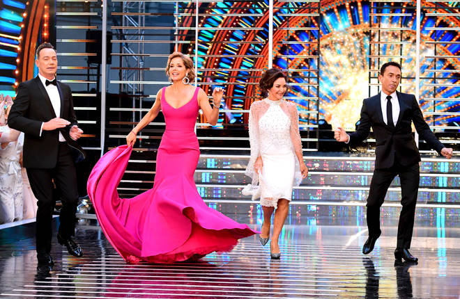 Bruno Tonioli with Strictly judges Shirley Ballas and Darcey Bussell
