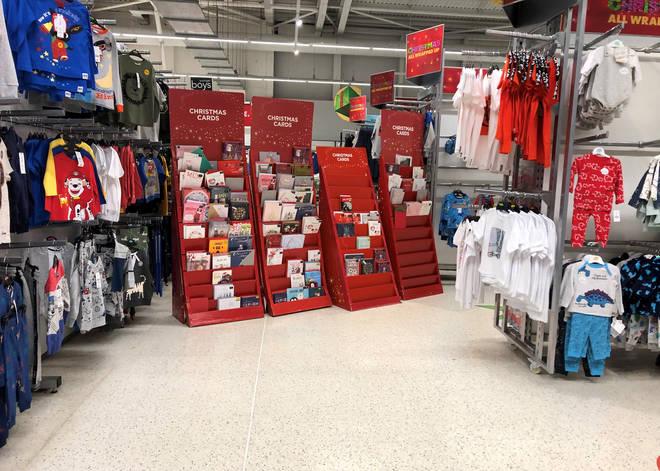 ASDA in Cardiff has cordoned off all 'non essential' items