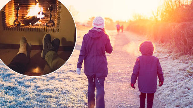 Temperatures will plunge over Christmas